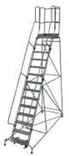 product image for Cotterman 1514R2642A2E30B4W4C1P3 - Rolling Ladder 182 in.H x 42 in.W Rubber