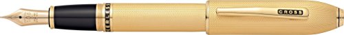 Cross Peerless 125 23kt Heavy Gold Plate Fine Point Fountain Pen - ()