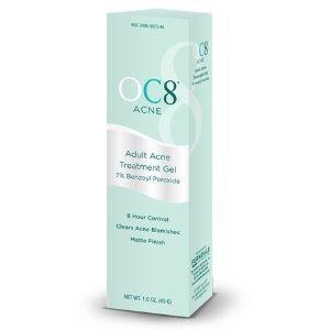 OC Eight Adult Acne Treatment Gel 1.6 oz