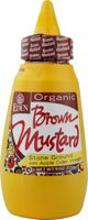 Eden Foods Organic Brown Mustard with Apple Cider Vinegar -- 9 oz (Apple Cider Vinegar Eden)