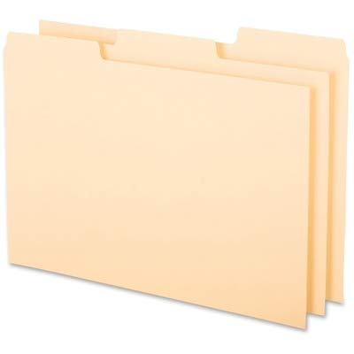 Oxford 1/3-cut Blank Tab Index Card Guide - Blank - 5quot; x 8quot; - 100 / Box - Buff Divider