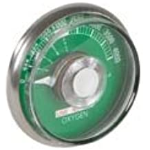 Yoke High Pressure Gauge - Oxygen 5404-0000-0002