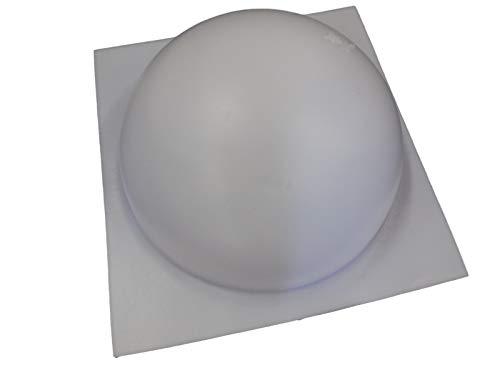 10 Inch Half Ball Sphere Concrete or Plaster Mold 7013