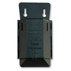 - Most standard utility knives (including BOS-10-065, BOS-10-499 and BOS-10-788) - Stanley Wall Mount Blade Dispenser