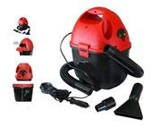 Powerworks 12 V Wet Dry Auto Vacuum with Attachments