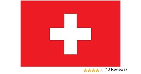 Planete Supporter - Bandera de Suiza (150 x 90 cm, poliéster): Amazon.es: Deportes y aire libre