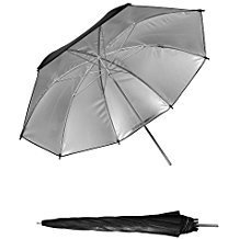 "Professional 33""84cm Black&Silver Reflector Umbrella for Photography Video Studio Flash Light by pangshi"