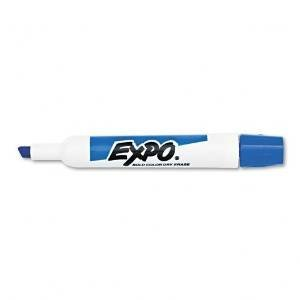 Expo Original Chisel Tip Dry Erase Markers, 12 Blue Markers (83003) Case of 12 Dozens by Expo (Image #1)