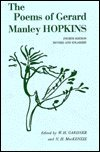 Poems of Gerard Manley Hopkins, Gerard Manley Hopkins, 0195001648