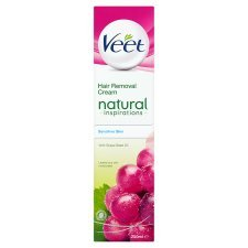 PACK OF 5 - Veet Naturals Cream Sensitive 200ML