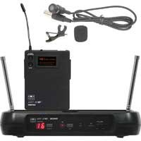 Galaxy Audio ECMR/52LV Wireless UHF Lavalier Microphone System, Frequency Band L, 16 Selectable Channels by Galaxy Audio