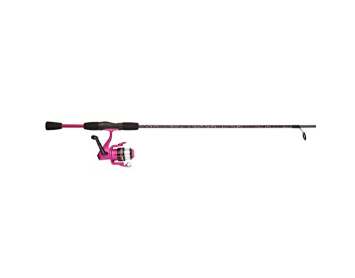 Shakespeare Amphibian Spinning Combo, Pink (Better To Have Loved And Lost Shakespeare)