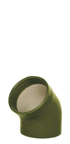 Colored Salt Pig - Emile Henry Olive Ceramic Gourmet Salt Pig
