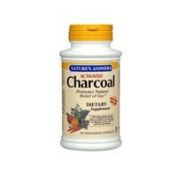 NATURE'S ANSWER CHARCOAL (ACTIVATED), 90 SGEL by Nature's Answer