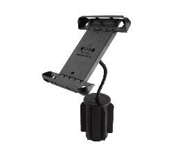 Flex Arm Cup Holder Mount with Tab-Tite Universal Clamping Cradle for the Apple new iPad, iPad 2 & iPad 1 WITH OR WITHOUT CASE, SKIN OR SLEEVE
