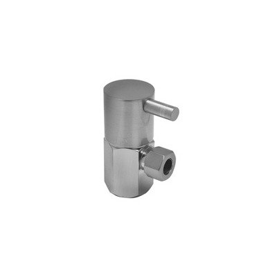 Mountain Plumbing MT5001L Contemporary Lever Handle Angle and Straight Valve Finish: Polished Chrome ()