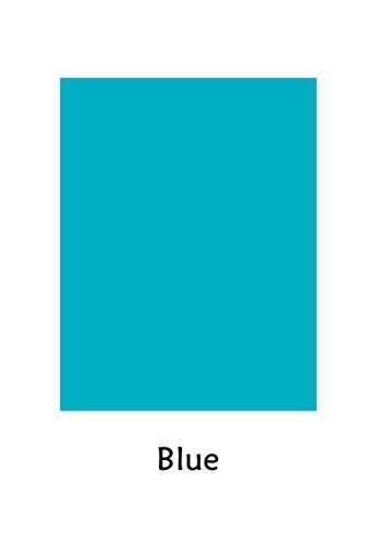 Neenah Astrobrights premium de color cartulina, papel funda 65lb/cartulina–50hojas por paquete, Azul, 8.5 x11