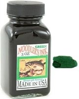 Noodler's Ink Fountain Pen Bottled Ink, 3oz, Standard Green