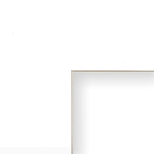 Craig Frames 16x20 White Mat with Cream Core and 12x16 Opening Size -