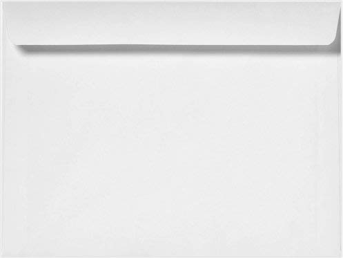 Minas Envelope 10 x 13 Booklet, White, Peel & Seal, 28LB, 100 Count- Item# MBKS1013