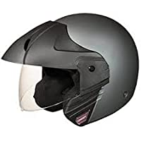 Studds Ninja Concept Eco Half Helmet (Gun Grey, L)