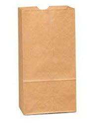 Duro Bag Company 81007 Paper Bag #4 Brown 30Lb 500/Pk