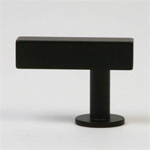 Lew's Hardware 11-101 Bar Series Cabinet Knob Matte Black