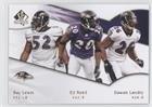 (Dawan Landry; Ed Reed; Ray Lewis (Football Card) 2009 SP Authentic - [Base] #188)