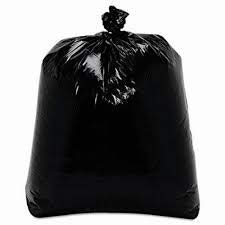 Cartridge Way Heavy Duty Low-Density Leak Proof Industrial Trash Bag, Size 35x47 inch, 200 Liter, 50 Gallon Capacity, 3.0 mil Thickness, Black 50 Bags per Box.