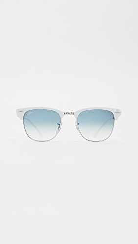 ALUMINUM Bluee Argenté Brushed RB Sonnenbrille 3507 Ray Silver Ban CLUBMASTER 4wzqxAt