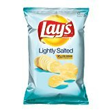 Lay's potato chips lightly salted, 50% less sodium 10.5-oz (Potato Salted Chips Lightly)