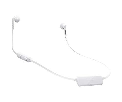 PHILIPS SHB5250WT/27 Auricular para móvil Biauricular Dentro de oído Blanco Inalámbrico - Auriculares (Inalámbrico,...