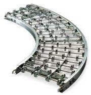 W Ashland Conveyor 24X20X45A Skatewheel Conveyor 45 Curve 24in