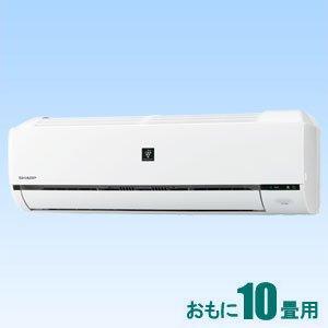 シャープ 【エアコン】高濃度プラズマクラスター25000搭載おもに10畳用 HDシリーズ (ホワイト系) AY-H28D-W