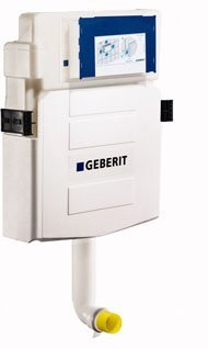 Geberit 109.304.00.5 Concealed Tank for Floor Mounted Washdown (Wall Mounted Toilet Support)