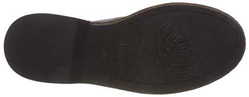 0001 Biker Women's Black Boots black Shs0276 Shabbies d0vwqEY0