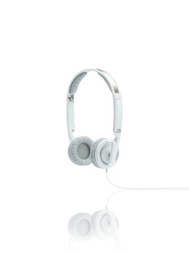 Sennheiser PX 200-II Foldable Closed Mini Headphone - White (Headphone Folding Sennheiser)