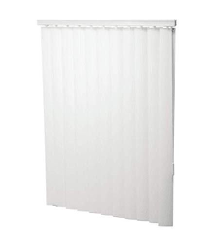 LPS 72W x 48L White 3-1/2″ Vertical Blind