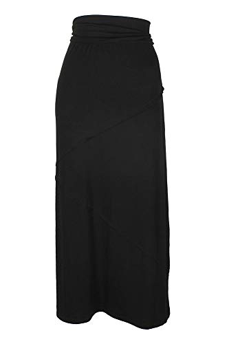 (Style & Co. Women's Deep Black Long Skirt Size S)