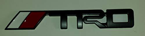 x1 New Black TRD emblem Tundra Tacoma Corolla Badge Decal
