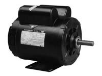 5 HP SPL 3450rpm R56HZ Frame 208-230 Volts Replacement Air Compressor Motor - AO Smith Electric Moto