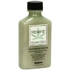 Hempz Pure Herbal Extracts Color Preserve Shampoo, 2.5 fl oz (75 ml) (Pack of 3)