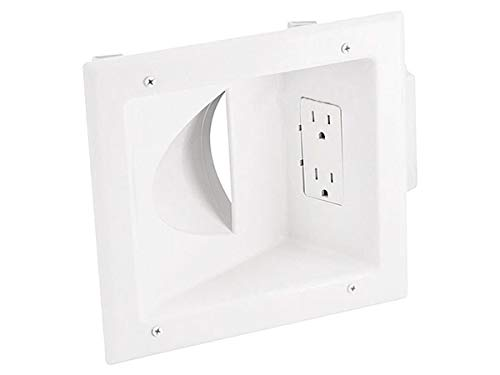 Monoprice 108475 Recessed Low Voltage Media Wall