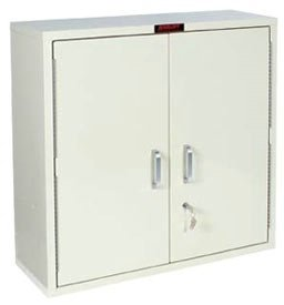 MSEC by Harloff, 2740, Large 2 Door Single Lock Narcotics Cabinet 30 x 30 x 10
