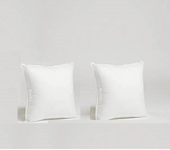 LINEN CLUB BEDDING Hotel Quality 550-Thread-Count 100% Egyptian Cotton Small 12x12'' Inch Size Export Quality Soft White Color Solid/Plain