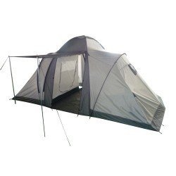 2-Raum-Campingzelt f/ür 4 Personen