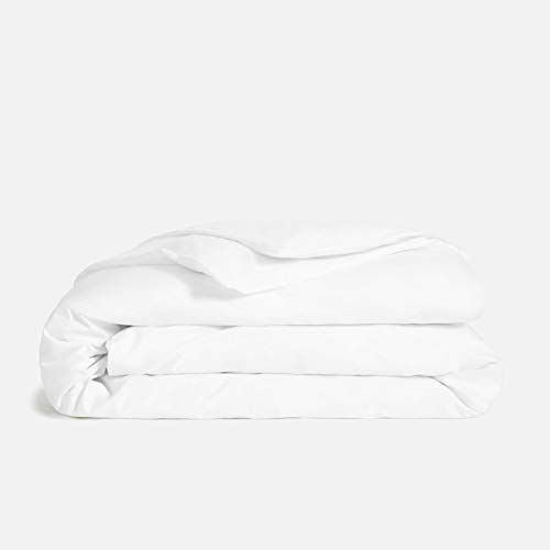 Mayfair Linen 800 Thread Count White King Duvet Cover Set, 100% Long Staple Egyptian Cotton Quilt Cover King/Cal King Size, Silky Soft, Breathable with Hidden Zipper Closure.