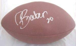 Buccaneers Ronde Barber Autographed Signed Wilson NFL Football JSA - Certified Authentic Barber Autographed Nfl Football