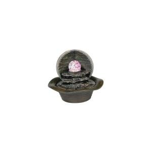 Outdoor Fountain Ball And Sphere With Led Light - 3