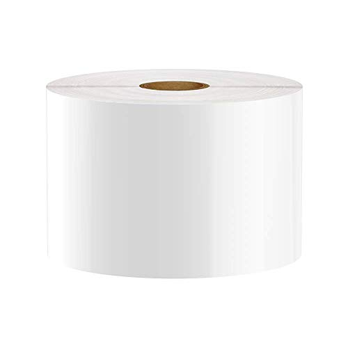 Premium Vinyl Label Tape for DuraLabel, LabelTac, SafetyPro and Others, White, 3